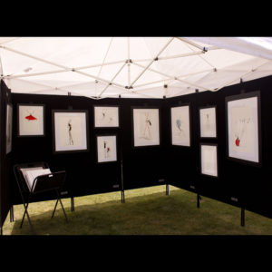 Drawings on display