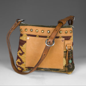 Purse with tan colors