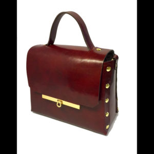 Red and gold purse