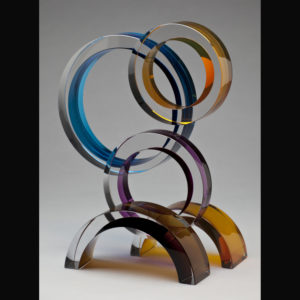 Glass sculpture