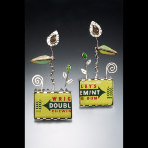 Jewelry made of wrigley's double mint gum