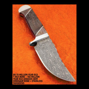 Metal and wooden knife