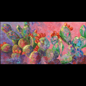 Painting of plants in various colors