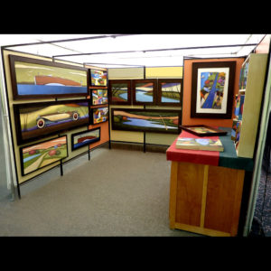 Art display of various pictures